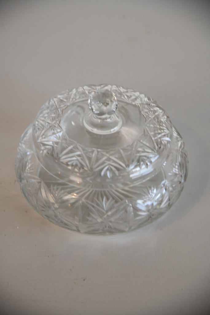 Glass Covered Pot