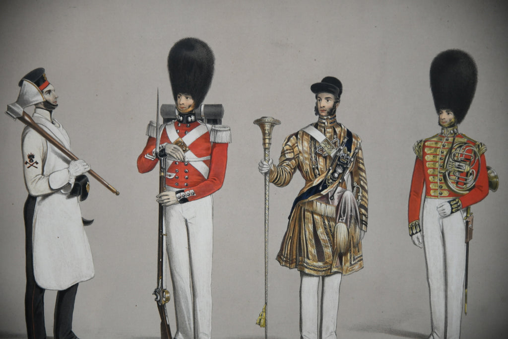 Costumes of the First or Grenadier Regiment