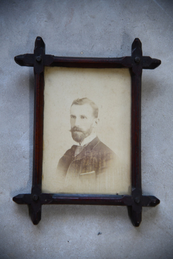 Late Victorian Portrait in Oxford Frame
