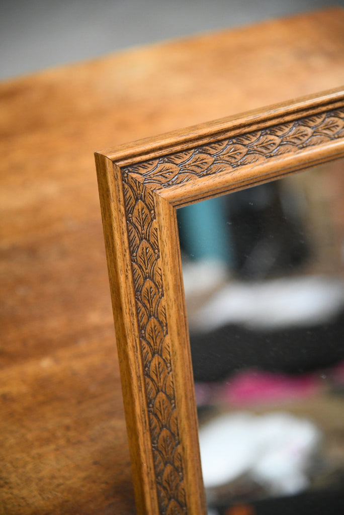 Carved Leaf Frame Wall Mirror