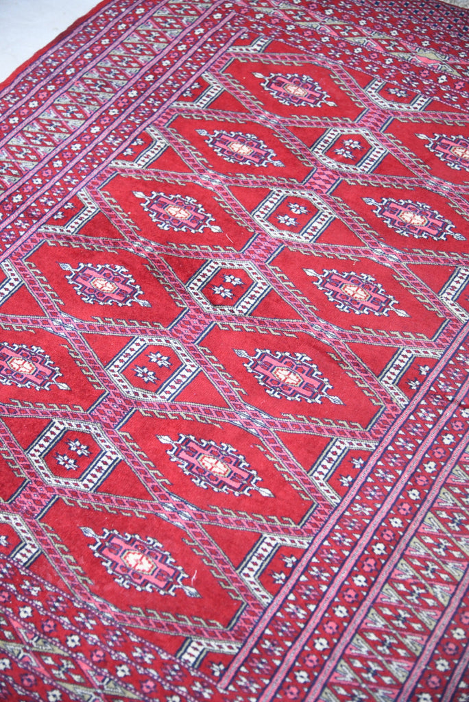 Eastern Red Wool Rug