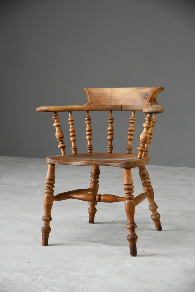 Elm Smokers Bow Chair