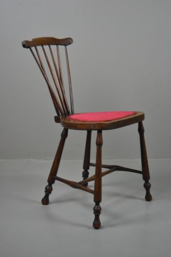 Vintage Stick Back Bedroom Chair - Kernow Furniture 100s vintage, retro & antique items in stock