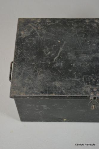 Vintage Black Tin - Kernow Furniture - 4