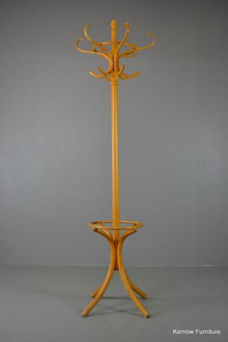 Traditional Style Vintage Beech Wooden Bentwood Hat Stand - Kernow Furniture 100s vintage, retro & antique items in stock