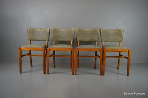 Set 4 Retro Beautility Dining Kitchen Chairs - Kernow Furniture 100s vintage, retro & antique items in stock