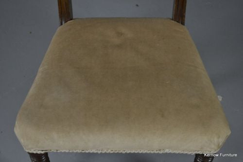 Victorian Single Rope Twist Chair - Kernow Furniture