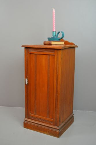 Edwardian Bedside Cabinet - Kernow Furniture