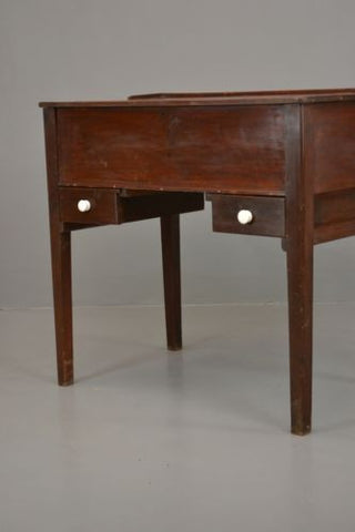Vintage Rustic Waxed Solid Pine Desk - Kernow Furniture 100s vintage, retro & antique items in stock