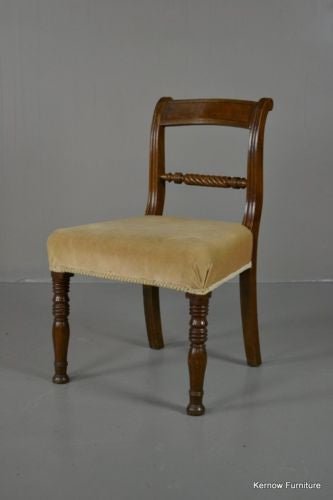 Victorian Single Rope Twist Chair - Kernow Furniture - 2