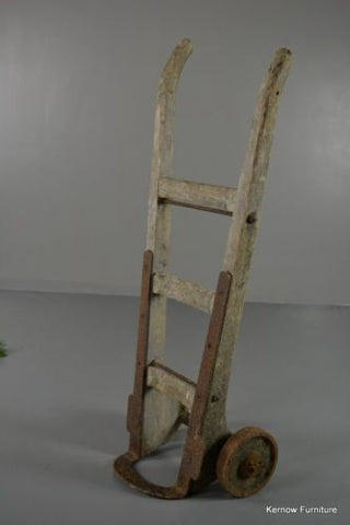 Antique Rustic Country Pine Sack Trucks - Kernow Furniture 100s vintage, retro & antique items in stock