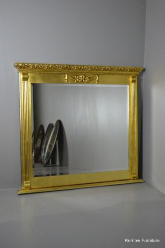 Antique Style Square Modern Gilt Frame Mirror - vintage retro and antique furniture