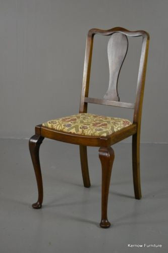 Single Antique Edwardian Occasional Chair - Kernow Furniture 100s vintage, retro & antique items in stock