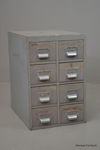 Vintage Industrial Small Desk Top Drawers - Kernow Furniture 100s vintage, retro & antique items in stock