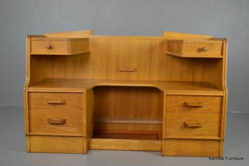 E Gomme Brandon Retro Vintage Oak Dressing Table - Kernow Furniture 100s vintage, retro & antique items in stock