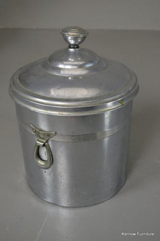 Vintage Deco Style Chrome Coal Bucket - Kernow Furniture 100s vintage, retro & antique items in stock