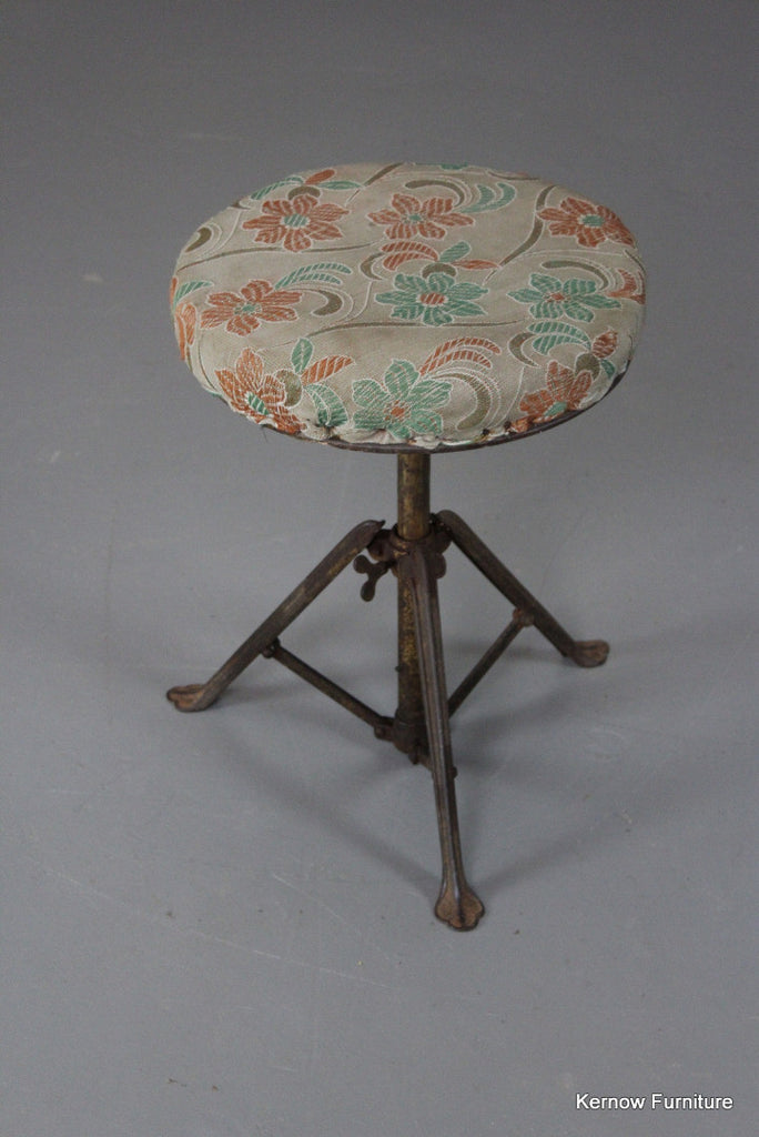 Early 20th Century Music Stool - Kernow Furniture 100s vintage, retro & antique items in stock