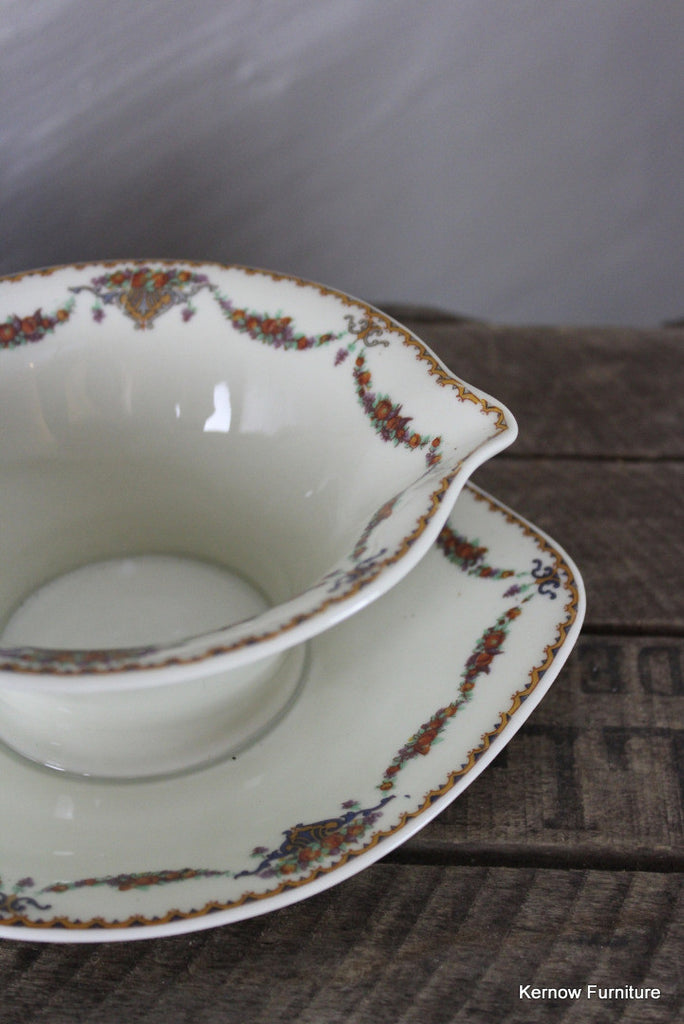 Limoges Theodore Haviland Pomona Sauce Gravy Boat - Kernow Furniture 100s vintage, retro & antique items in stock