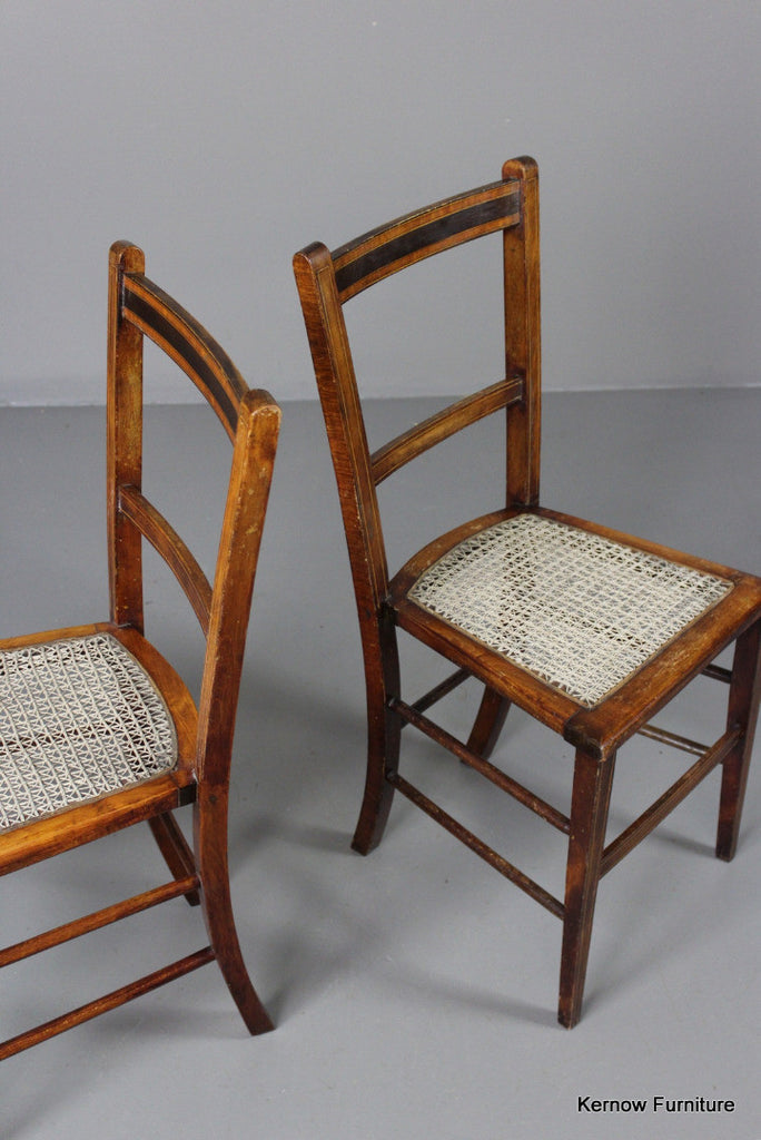 Pair Small Occasional Chairs - Kernow Furniture 100s vintage, retro & antique items in stock