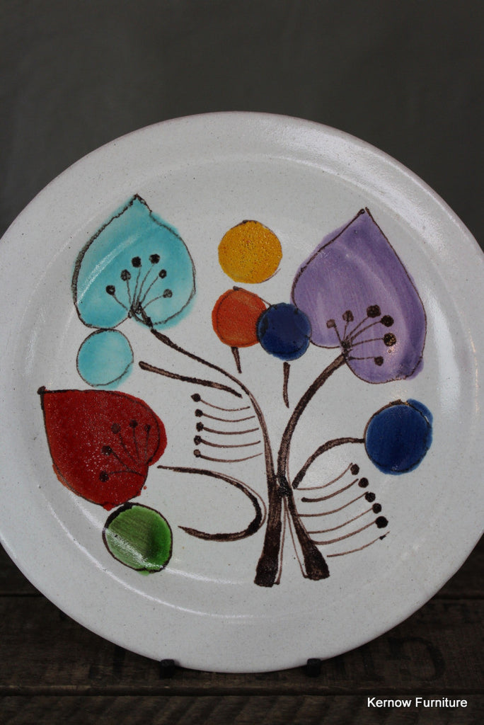 Desimone Italy Pottery Art Plate - Kernow Furniture 100s vintage, retro & antique items in stock
