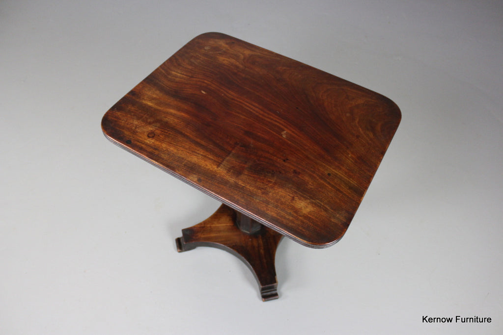 William IV Mahogany Side Table - Kernow Furniture