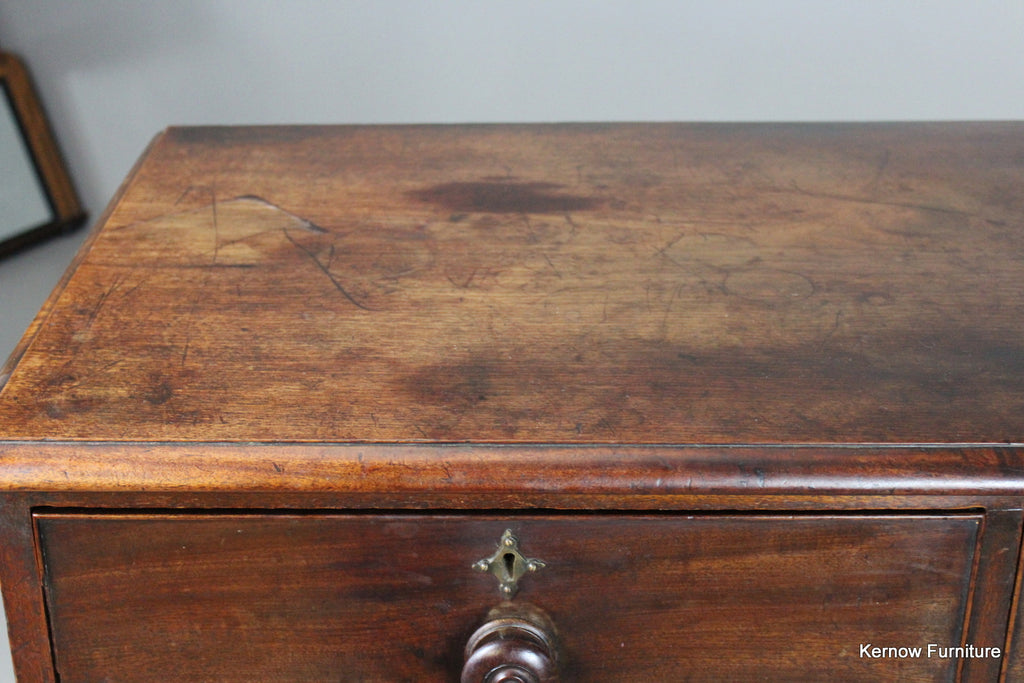 Antique Victorian Mahogany Chest of Drawers - Kernow Furniture