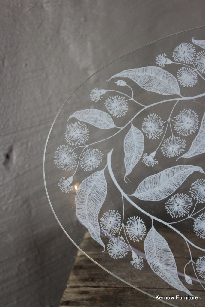 Chance Glass Platter - Kernow Furniture 100s vintage, retro & antique items in stock
