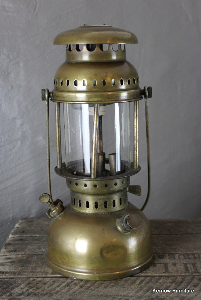 Brass Tilley Lamp - Kernow Furniture 100s vintage, retro & antique items in stock