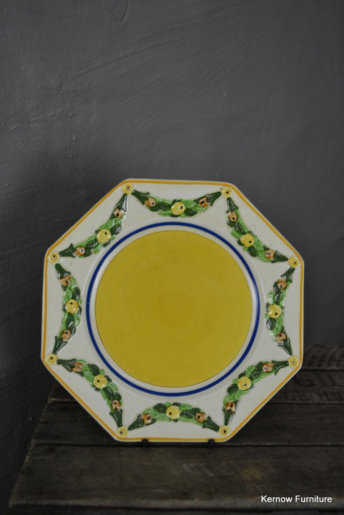 Set 3 Ridgways Bedford Ware Handpainted Plates - Kernow Furniture