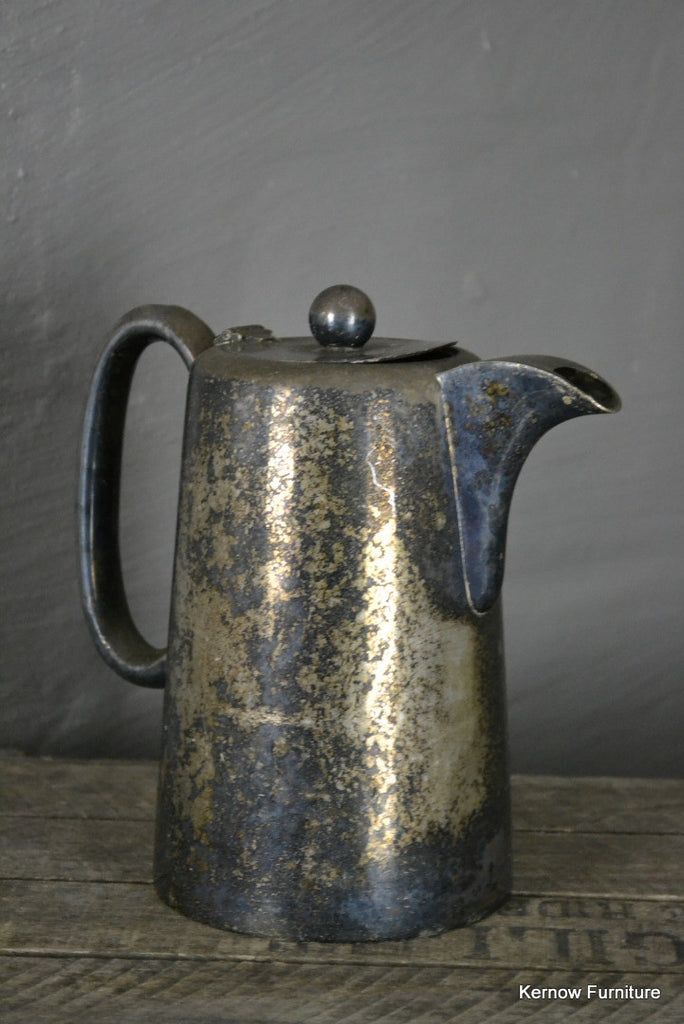 Vintage EPNS Coffee Pot - Kernow Furniture 100s vintage, retro & antique items in stock