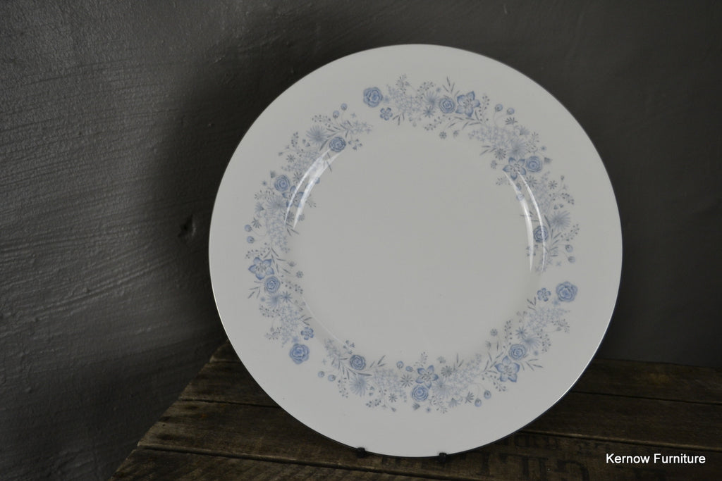 Pair Wedgwood Belle Fleur Plates - Kernow Furniture 100s vintage, retro & antique items in stock