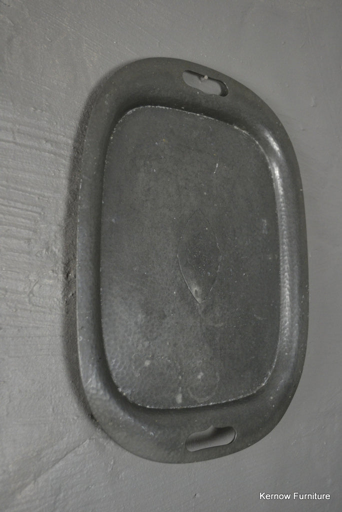 James Dixon & Sons Pewter Serving Tray - Kernow Furniture 100s vintage, retro & antique items in stock
