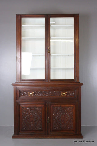 Victorian Walnut Secretaire