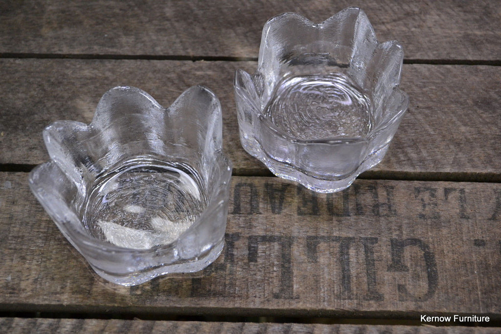 Bengt Edenfalk for Skruf Pair Retro Woodstock Candle Holders - vintage retro and antique furniture