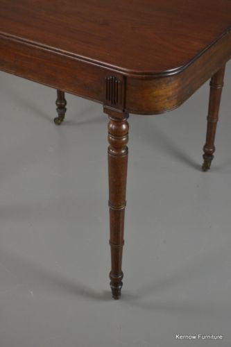 Antique Victorian Mahogany Fold Over Games Tea Occasional Table - Kernow Furniture 100s vintage, retro & antique items in stock