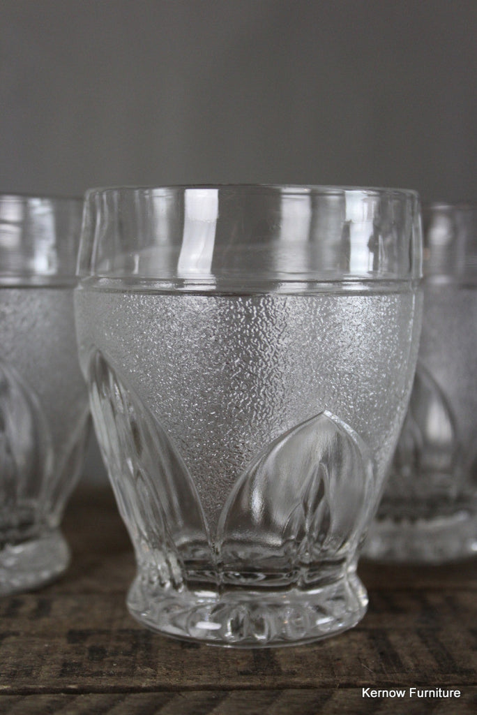 Set 4 Vintage Glasses & Jug - Kernow Furniture 100s vintage, retro & antique items in stock