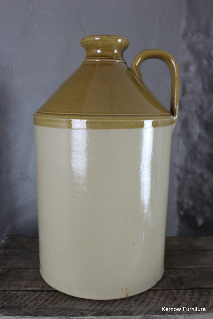 Large Stoneware Flagon - Kernow Furniture 100s vintage, retro & antique items in stock