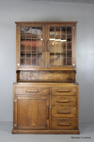 Early 20th Century Triumph Oak Kitchen Cupboard - Kernow Furniture 100s vintage, retro & antique items in stock
