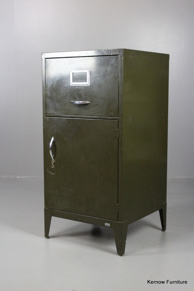 Stovall Steel Office Cabinet - Kernow Furniture 100s vintage, retro & antique items in stock