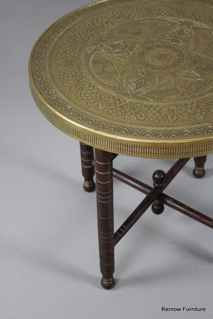 Brass Eastern Coffee Table - Kernow Furniture