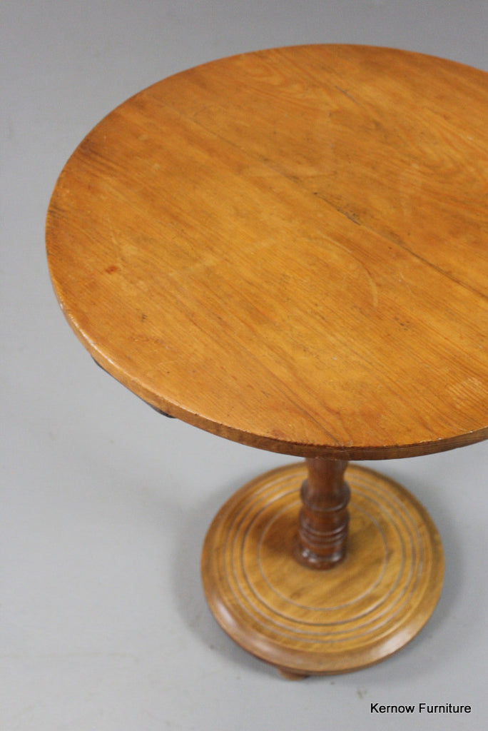 Pine & Oak Occasional Table - Kernow Furniture 100s vintage, retro & antique items in stock