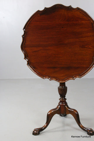 Georgian Style Tilt Top Table - Kernow Furniture 100s vintage, retro & antique items in stock