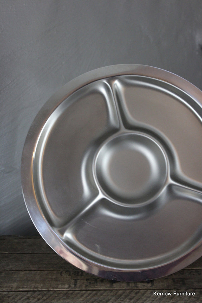 Round Stainless Serving Dish - Kernow Furniture