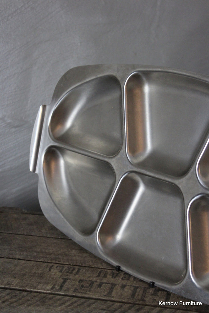 Stainless Steel Serving Dish - Kernow Furniture 100s vintage, retro & antique items in stock