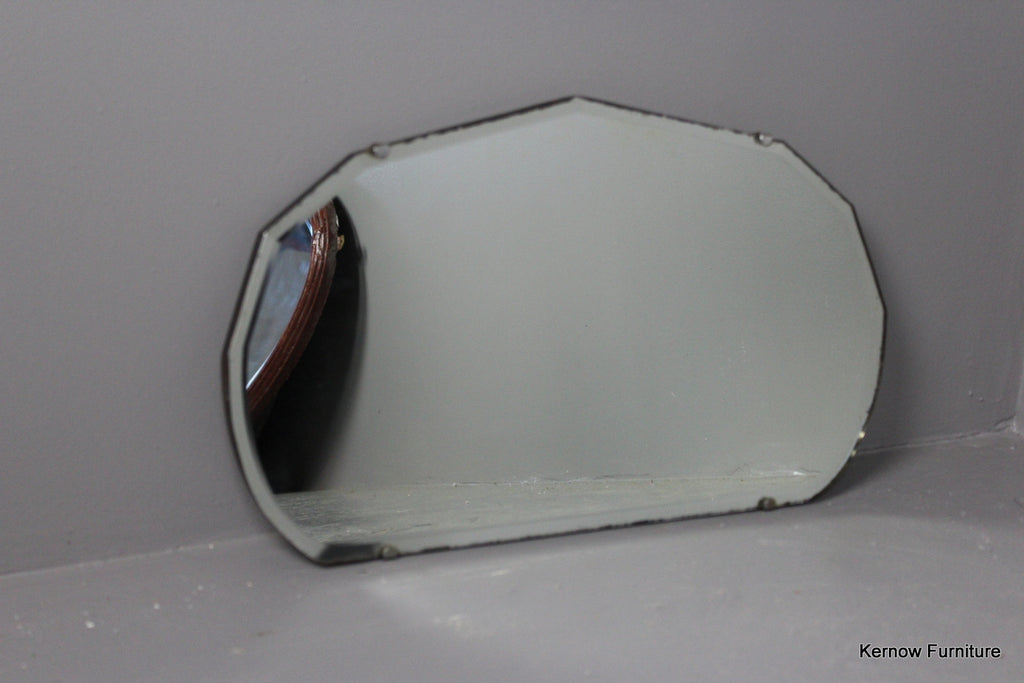 Vintage Bevelled Edge Mirror - Kernow Furniture
