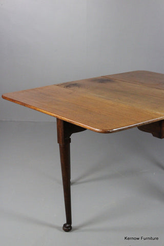 Mahogany Drop Leaf Table - Kernow Furniture 100s vintage, retro & antique items in stock