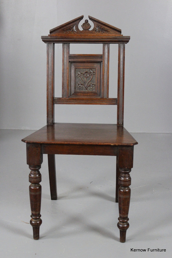 Oak Hall Chair - Kernow Furniture
