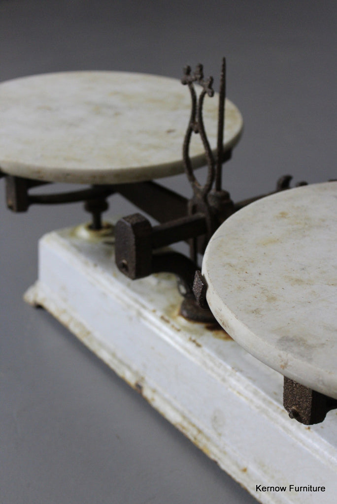 Force Shop Counter Scales - Kernow Furniture 100s vintage, retro & antique items in stock