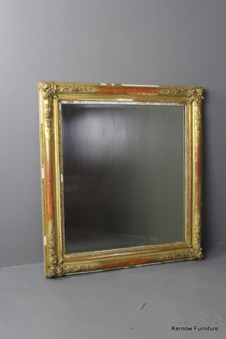 French Gilt Mirror - Kernow Furniture 100s vintage, retro & antique items in stock