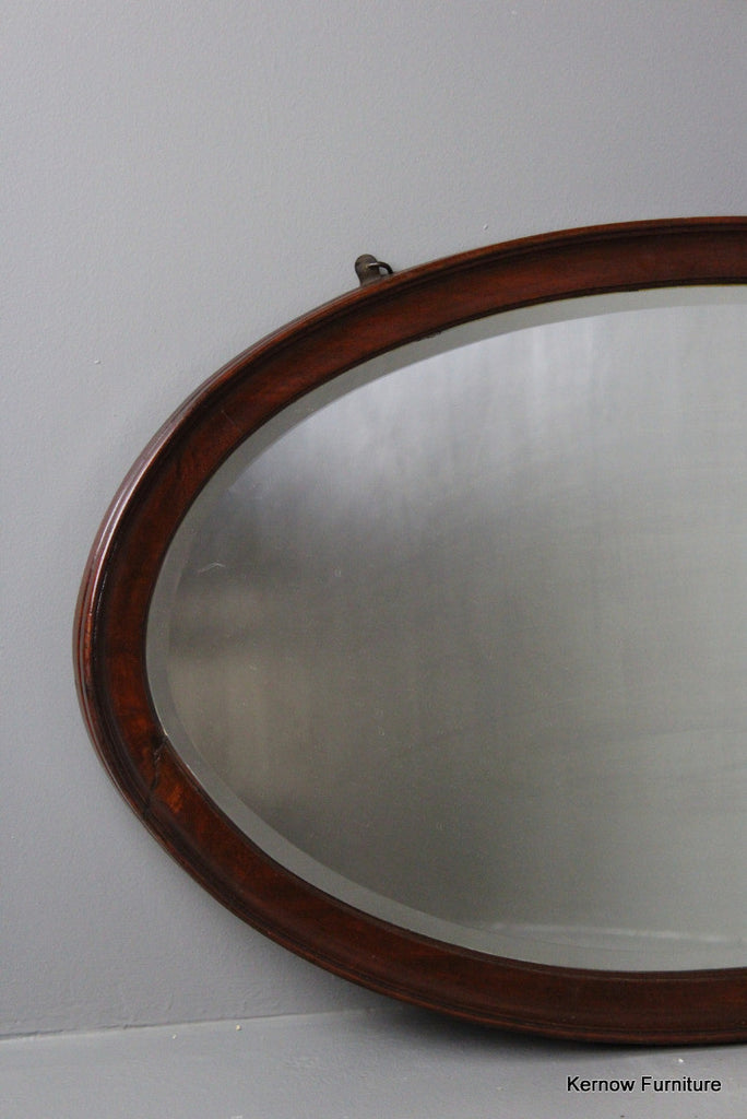 Mahogany Wall Mirror - Kernow Furniture 100s vintage, retro & antique items in stock